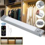 Оригинал              60 LED USB аккумуляторная Motion Датчик Беспроводная подсветка шкафа под шкаф Лампа