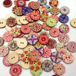 Оригинал              100шт ретро деревянные швейные Кнопки DIY ремесло Сумка Шапка кнопка украшения одежды швейная