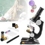 Оригинал              Детский Детский Детский Микроскоп Science Lab Set с Легкой Развивающей Игрушкой