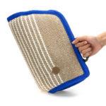 Оригинал              Безопасность Защита с утолщенной рукояткой из джута Практические занятия Собака Рукав для прикуса с ручкой Pet Trainer Durable Chewing