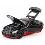 Оригинал              1:32 Легированный металл Авто со светлой литьевой моделью, игрушка для детей, подарок
