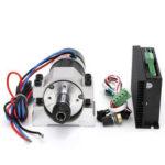Оригинал              48 В 500 Вт Бесколлекторный DC шпинделя Мотор + WS55-220S Бесколлекторный шпиндельный драйвер + шпиндельный крепеж Набор
