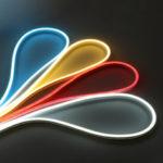 Оригинал              2M Neon EL Провод Light Водонепроницаемы Гибкий Силиконовый Трубка LED Полоска Лампа для помещений На открытом воздухе Домашний декор DC12V