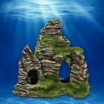 Оригинал              Маунтин-Вью Аквариум Рок-пещера Каменное дерево Мост Fish Tank Украшения Украшения