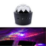 Оригинал              Светодиодный Декоративный Свет Модифицированный Colorful Мигающие Атмосферные Огни Управление Звук Музыка Ритм Лампы Портативный USB Для Авто