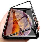 Оригинал              Bakeey Plating Магнитная адсорбционная металлическая закаленное стекло Защитная Чехол для iPhone XS MAX XR X для iPhone 7 6 6S 8 Plus Задняя крышка