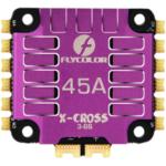 Оригинал              FLYCOLOR X-Cross 45A 3-6S 5V/3A 4IN1 ESC 48 МГц с ЧПУ из алюминиевого сплава, быстрое охлаждение корпуса для FPV Racing RC Дрон