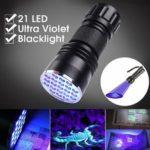 Оригинал              Алюминиевый сплав 21LED UV Ультрафиолетовый мини Blacklight фонарик факел Лампа На открытом воздухе