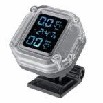 Оригинал              720 мАч LCD Дисплей Водонепроницаемы мотоцикл TPMS Wireless Real Время давления в шинах Монитор Внутренняя система TP999