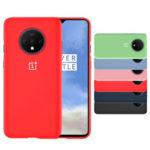 Оригинал              Для OnePlus 7T Чехол Bakeey Оригинальный логотип Ультратонкий против царапин Силиконовый Soft Защитный Чехол