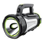 Оригинал              5000LM 3 режима USB аккумуляторная супер яркий LED прожектор прожектор фонарик