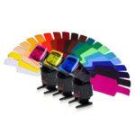 Оригинал              20 в 1 универсальный цветной гель фильтровальная бумага для фотографий Speedlite Flash LED Video Light