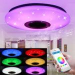 Оригинал              48 Вт 102LED Затемнения RGBW Музыка Потолочный Светильник Звездный Sky Bluetooth APP Управления
