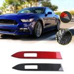 Оригинал              Внутренняя отделка панели приборов из углеродного волокна, подходящая для Ford Mustang 2015-2019