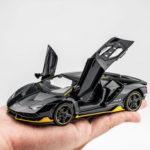 Оригинал              1:32 Сплав Centenario LP770 Многоцветный Super Racing Авто со Звук Свет Литья Под Давлением Модель Игрушки для Детей Подарок