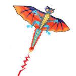 Оригинал              3D Огромный Дракон Kite Family На открытом воздухе Спортивная летающая игрушка с линией Kite 30 м