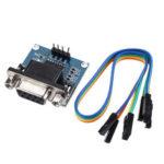 Оригинал              3шт DC5V MAX3232 MAX232 RS232 To TTL Модуль преобразователя последовательной связи с кабелем Jumper Geekcreit для Arduino – продукты, которые работают с официальным