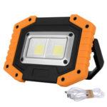 Оригинал              30W LED COB На открытом воздухе IP65 Водонепроницаемы Рабочий свет Кемпинг Аварийный фонарь Прожекторный фонарик