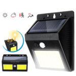 Оригинал              COB Socal Кемпинг Light Auto Sensing Light На открытом воздухе Водонепроницаемы Работа Лампа Фонарь ночного предупреждения 600LM / 1000LM