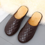 Оригинал              Мужская Comfy Warm Mules Home Indoor Casual Slip On Тапки