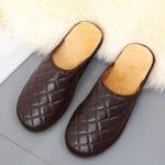 Оригинал              Мужская Comfy Warm Mules Home Indoor Casual Slip On Тапки
