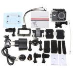 Оригинал              SJ7000 Водонепроницаемы 1080P HD WIFI 2.0 дюймов LCD Экран Широкоугольный Спорт Действие камера