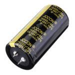 Оригинал              15000UF 80V 30x70mm Радиальный алюминиевый электролитический конденсатор Высокочастотный 105 ° C