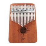 Оригинал              Cega 17 Key Mahogany Kalimbas Thumb Piano Finger Перкуссия в скандинавском стиле с тюнингом Hammer