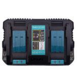 Оригинал              Универсальное зарядное устройство USB Dual DC18RD 14.4V-18V Li-Ion Батарея Зарядное устройство для быстрой зарядки аккумулятора Makita Power Инструмент