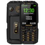 Оригинал              TKEXUN Q8A 3G-сеть с Wifi 3,0 дюйма 2800 мАч Power Bank Быстрый набор Двойной фонарик 3D Громкоговоритель Двойная SIM-карта Двойной резервный телефон