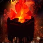 Оригинал              Новый LED Искусственный шелк Пламя огня Glow Effect Party Light Лампа Украшения ВЕЛИКОБРИТАНИЯ / AU / US / ЕС Plug