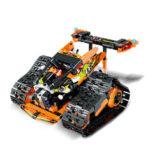 Оригинал              Mold King DIY Smart RC Robot Авто Блок Building Программируемый Bluetooth APP / 2.4G Палка Управление Собранный Робот Игрушка