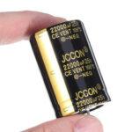 Оригинал              22000UF 25V 30x45mm Радиальный алюминиевый электролитический конденсатор Высокочастотный 105 ° C
