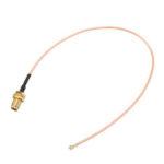 Оригинал              2Pcs10CM Удлинитель U.FL IPX к RP-SMA Женский Коннектор Антенна РЧ соединительный кабель Провод Jumper для PCI WiFi карты RP-SMA Разъем для IPX RG178