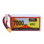 Оригинал              ZOP Power 11.1V 7000mAh 65C 3S Lipo Батарея XT60 Разъем для Hubsan X4 Pro FPV Квадрокоптер