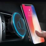 Оригинал              Qi Wireless Авто Зарядное устройство Магнитный держатель для iPhone Huawei P30/Mate 20 Pro
