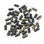 Оригинал              50Pcs 50V 1000UF 13 x 20 мм высокочастотный радиальный электролитический конденсатор с ЭПР