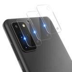 Оригинал              Bakeey Anti-scratch HD Прозрачное закаленное стекло Телефон камера Объектив Протектор для Samsung Galaxy S20 + / Galaxy S20 Plus 5G 2020