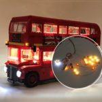 Оригинал              DIY Светодиодный Освещение Набор ТОЛЬКО ДЛЯ LEGO London Bus 10258 Игрушечные Кирпичи Строительные Блоки