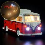 Оригинал              DIY Светодиодный Освещение ТОЛЬКО Набор ДЛЯ LEGO 10220 Усовершенствованные модели VW T1 Автофургон