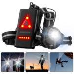 Оригинал              SGODDE На открытом воздухе Ночные ходовые огни LED Передние ходовые огни велосипедов с 120 ° Регулируемое предупреждение по безопасности луча Р