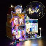 Оригинал              DIY Светодиодный Освещение Набор ТОЛЬКО Для LEGO 10270 Creator Модульный Книжный Строительный Игрушка