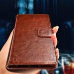 Оригинал              Bakeey Flip Card Слот Бумажник Кожа PU Ударопрочный Защитный Чехол Для Sharp Aquos S2