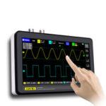 Оригинал              DANIU ADS1013D 2 канала 100MHz Стандарты Ширина 1GSa / s Частота дискретизации Осциллограф с 7 дюймов Цвет TFT LCD Сенсорный экран