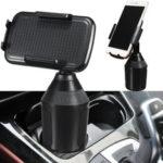 Оригинал              Зажим 360 ° Авто Подставка для чашки Подставка под колыбель Авто Держатель для телефона для мобильного телефона GPS