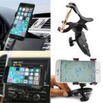 Оригинал              Универсальный 360 ° вращающийся Авто CD-слот GPS Держатель для крепления на мобильный телефон