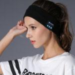 Оригинал              Bakeey Z3 Беспроводная связь Bluetooth 5.0 Relax HIFI Музыкальный динамик Гарнитура Спортивная повязка на голову Bluetooth Приемник Спальный Маска с микрофо