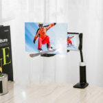 """Оригинал              12 """" Складная лупа для экрана мобильного телефона 3D HD Экран Усилитель Кронштейн подставки"""