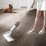 Оригинал              Микрофибра Spray Mop Cleaner Набор Домашняя пыль для пола Швабра Наборchen Ванная комната