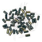 Оригинал              50Pcs 35V 1000UF 10 x 20MM Высокочастотный Низкий ЭПР Радиальный электролитический конденсатор